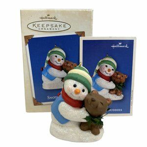 Hallmark Keepsake Ornament Snow Buddies 2002